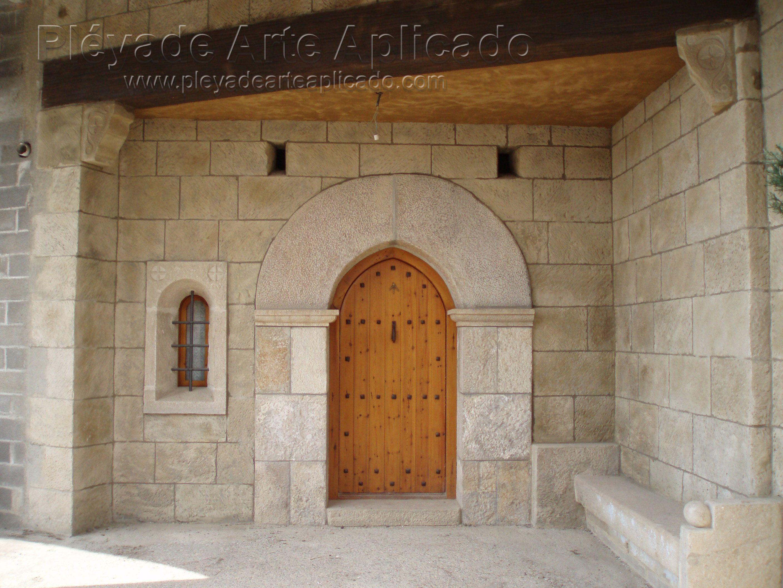 Revestimiento con piedra artificial decoraci n en - Revestimiento piedra artificial ...