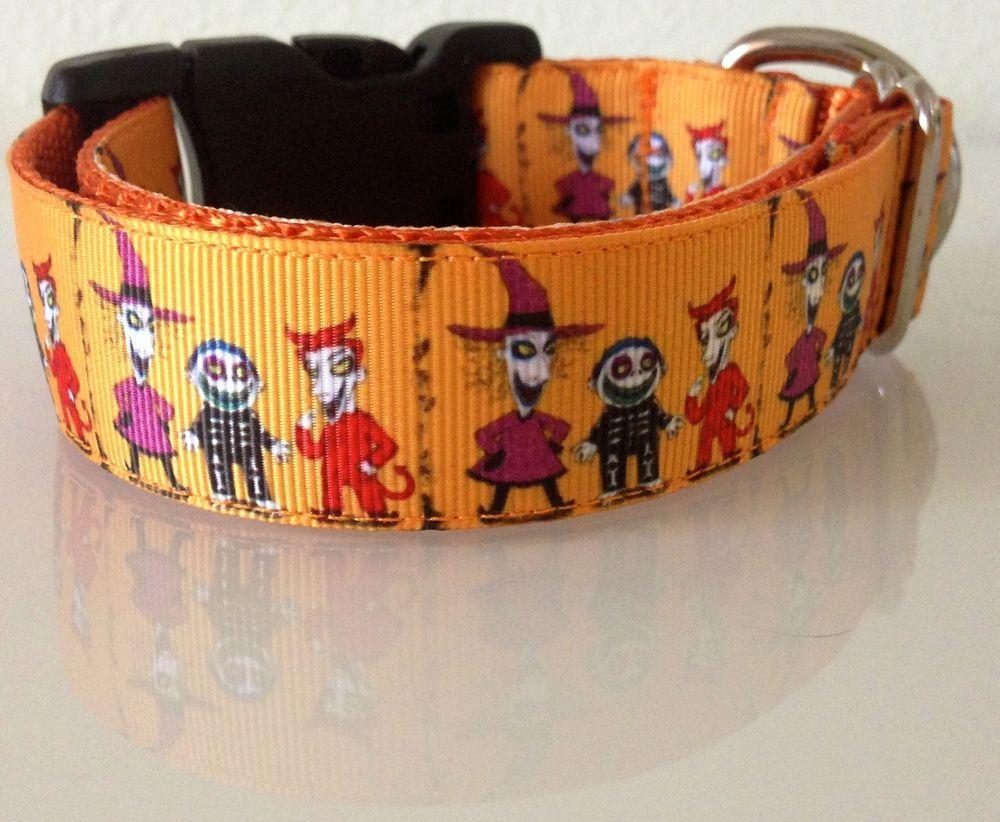 The Nightmare Before Christmas Jack Burton Dog Collar or