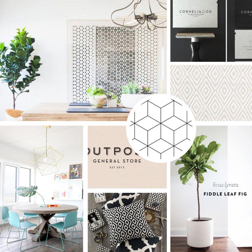 Organic Modern Furniture The Creative House Moodboard Organic Modern Creative And House