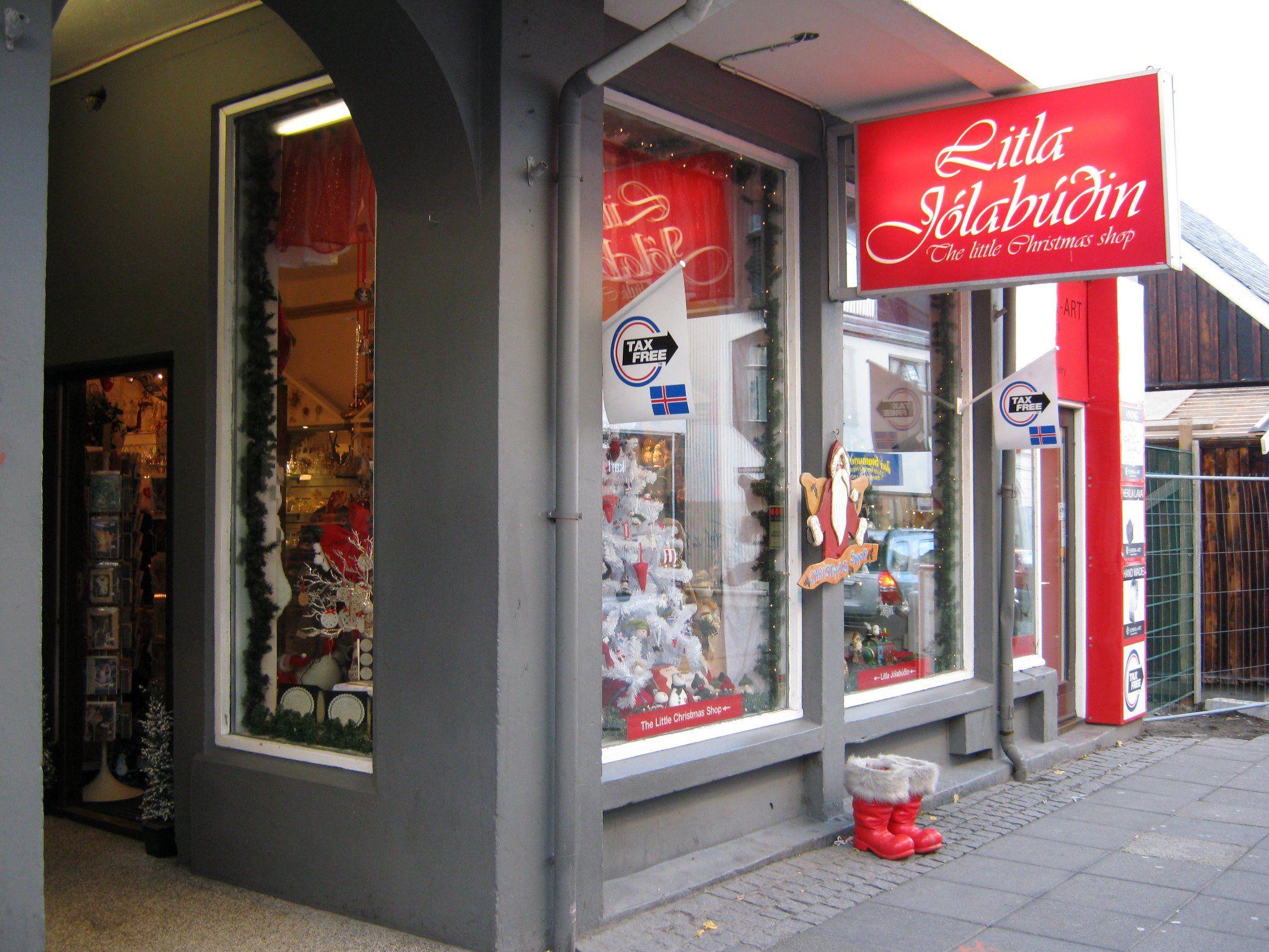 Little Christmas Shop, Laugavegur, Reykjavík | Raven Design store ...