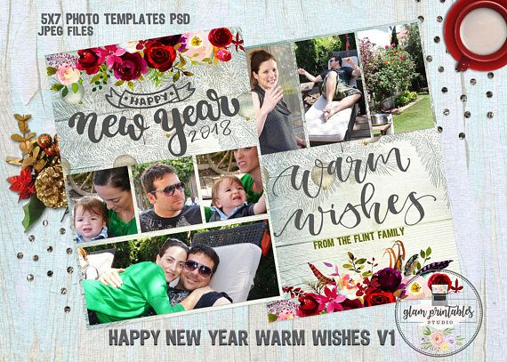 new year photoshop templates cards greeting cards photoshop templates custom watercolor flowers border