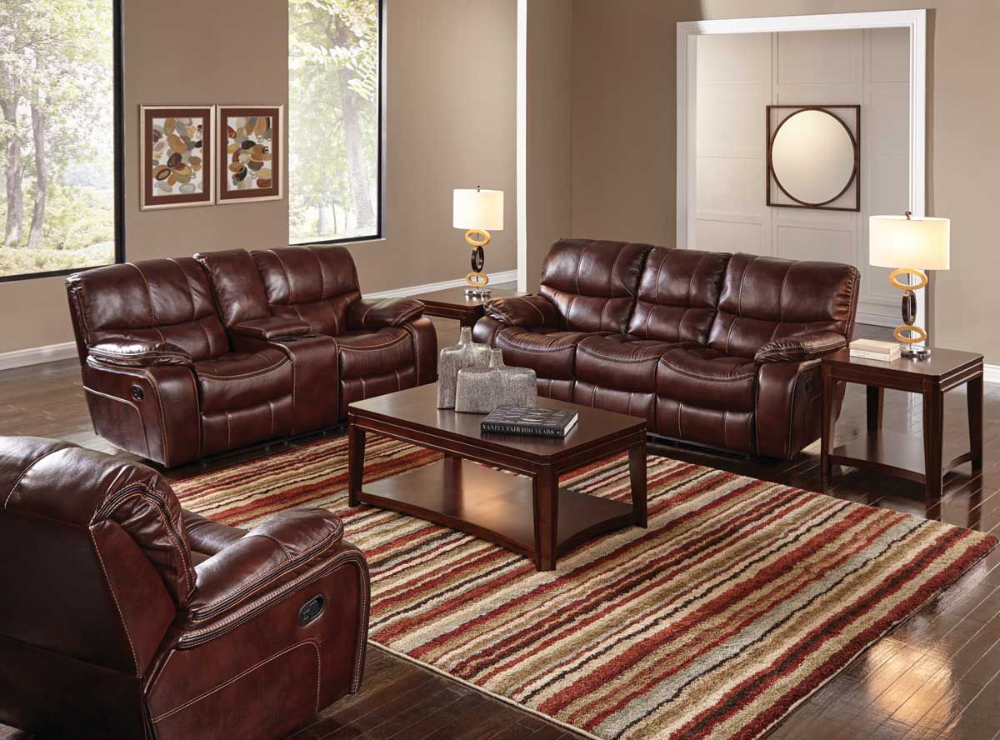 Best Hamilton Ii Burgundy Gliding Console Loveseat With Images 400 x 300
