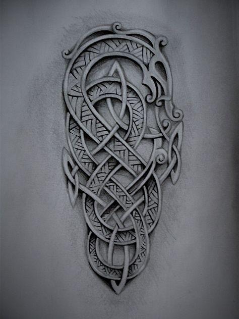 viking pinterest tatouages manches. Black Bedroom Furniture Sets. Home Design Ideas
