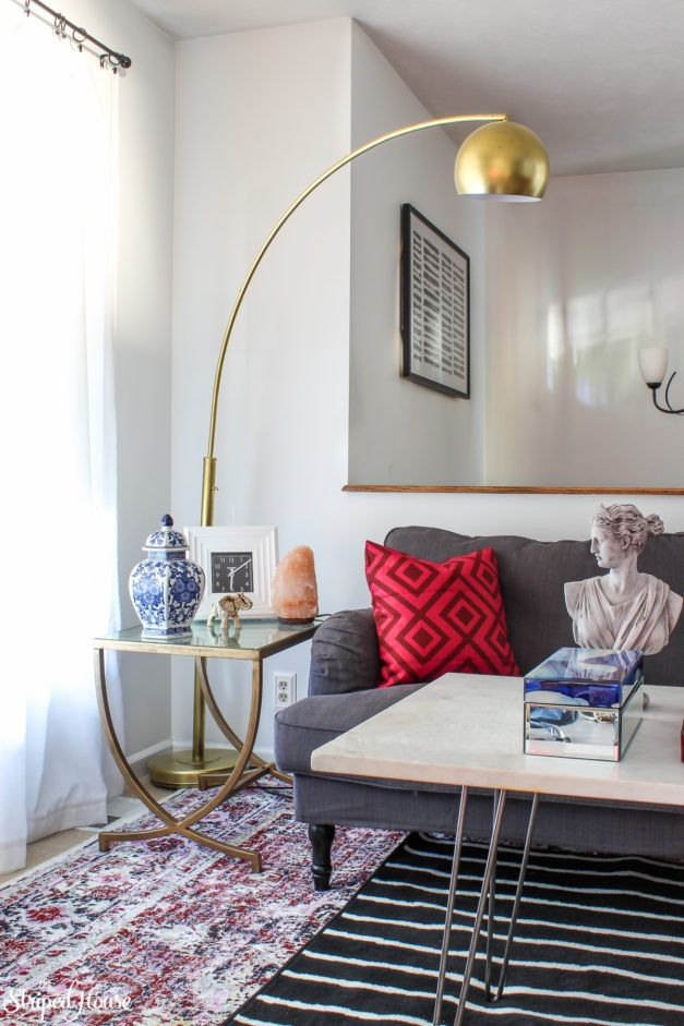 Living Room Makeover Final Reveal And Source List  Eclectic Decor Simple Living Room Makeover Decorating Inspiration