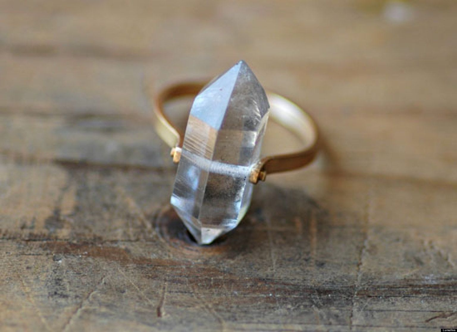 Photos: 7 Stunning Engagement Rings For Your Indie Bride Herkimer Diamonddiamond  Ringsrough