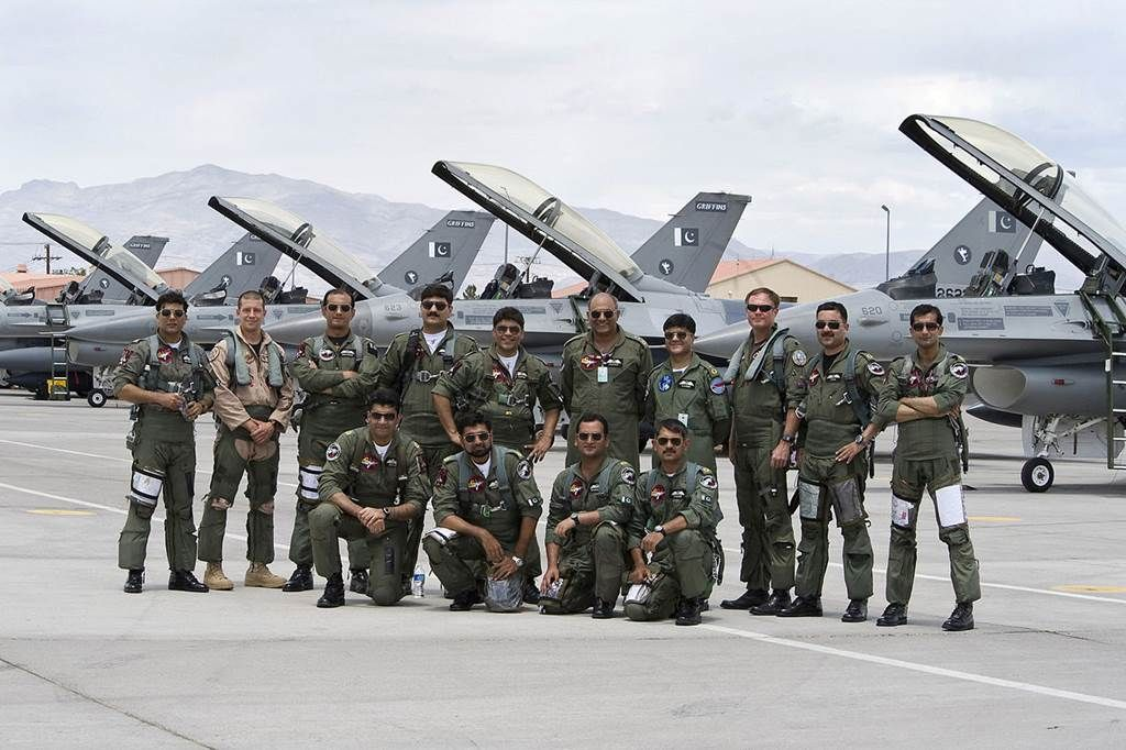 Pakistan is notable for having one of the best trained air