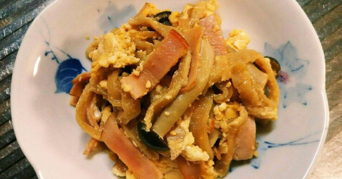 切干大根とハムとしめじの炒め煮 by とまとん7号 [クックパッド] 簡単おいしいみんなのレシピが256万品