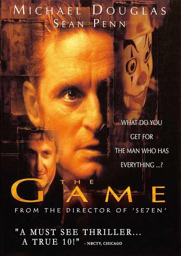 The Game Starring Michael Douglas Deborah Kara Unger Sean Penn