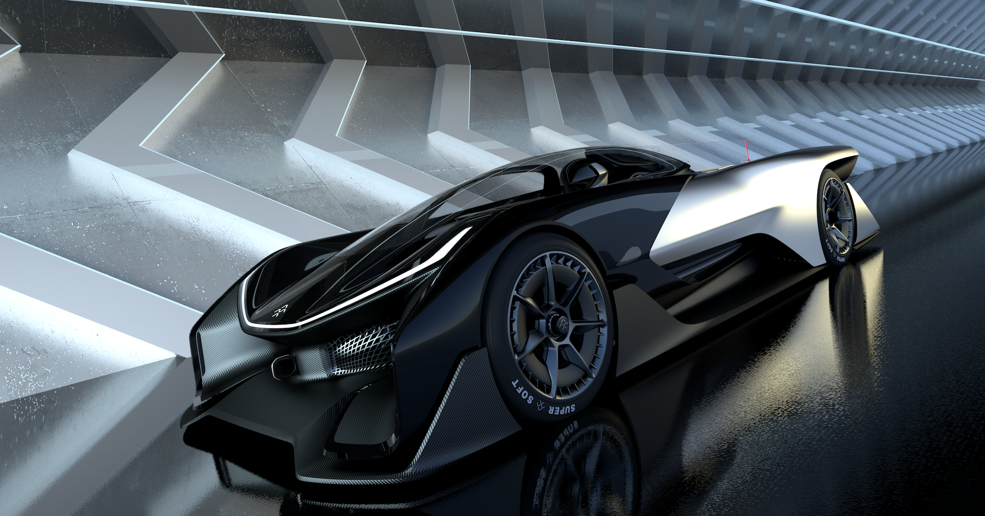 Faraday Future The California Based Electric Car Company That S Been Operating In Stealth Mode For Past Year And A Half Made Its First Splash On