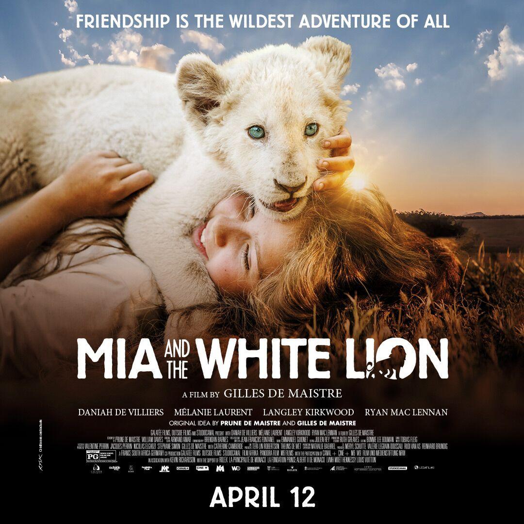 Daniah De Villiers A Breakout Teenage Actress In Mia And The White Lion White Lion Animal Activist Lion