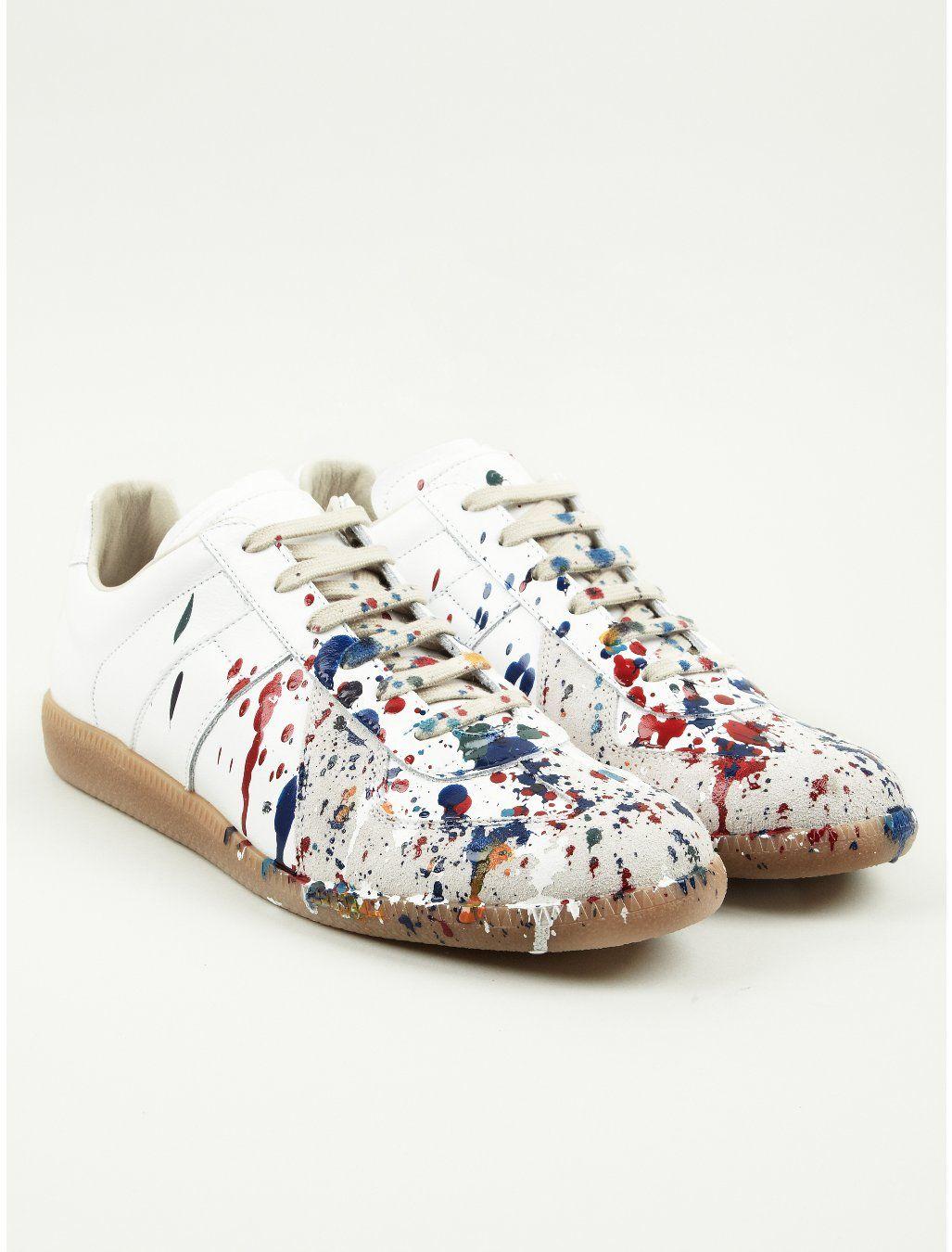 d1624eb3e9f Maison Martin Margiela 22 Men's Colour Drops Replica Sneakers ...