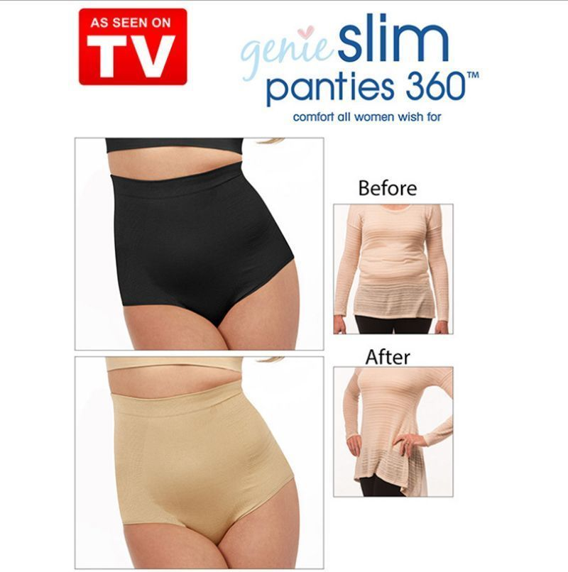 66c4c260ebbff Genie Slim Panties 360 Shapewear Slimming Underwear Tummy Belly Tucker  Control