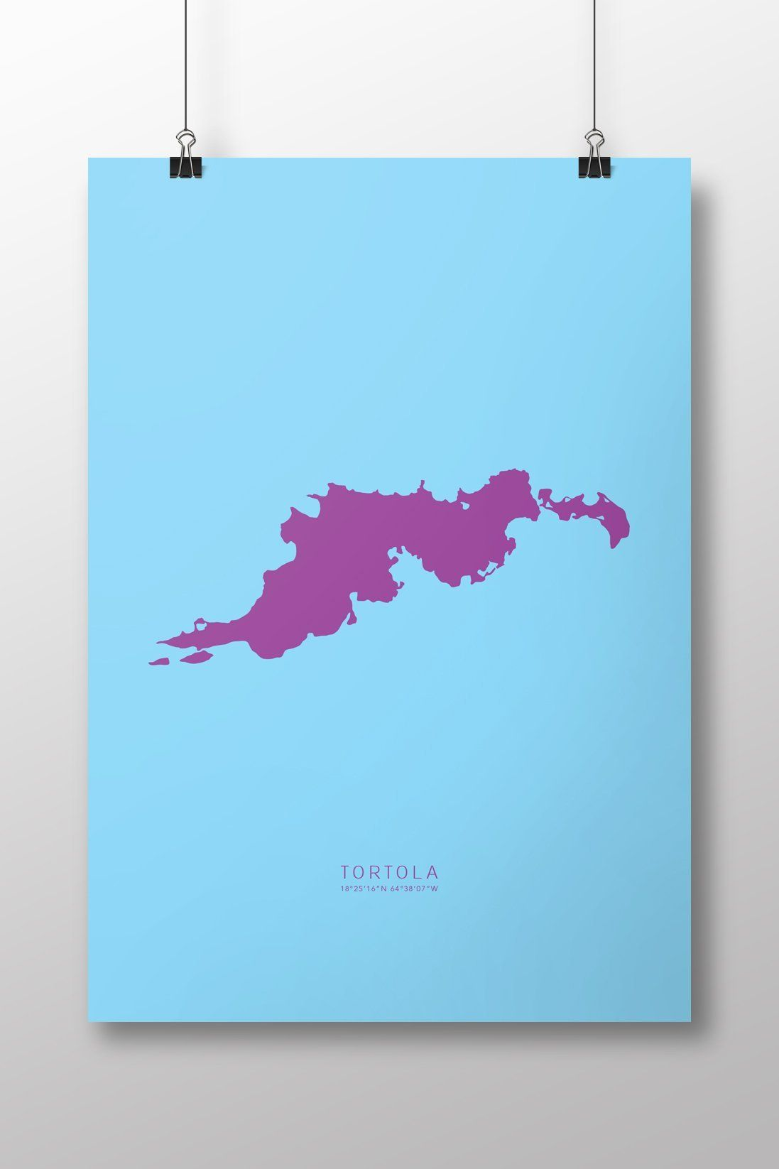 Tortola Art Print. Tortola: PRINT SIZE currently only offered at 14 ...