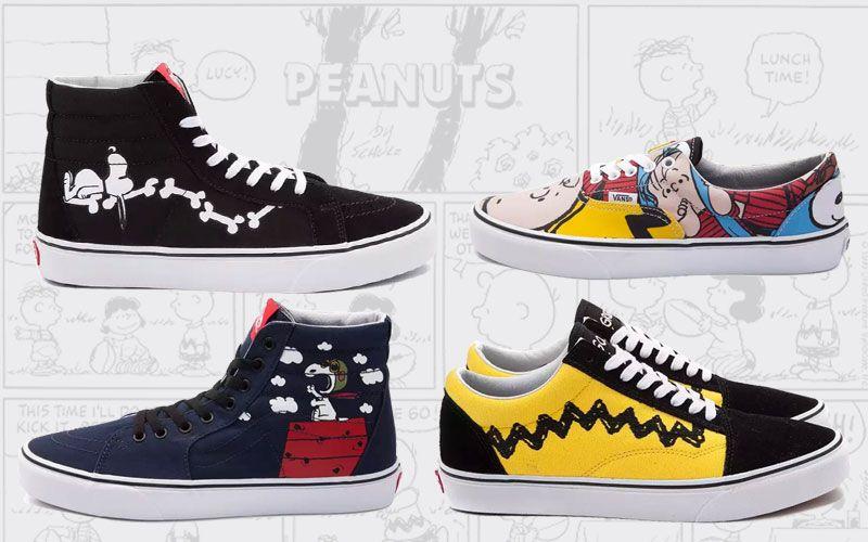 vans peanuts sneaker