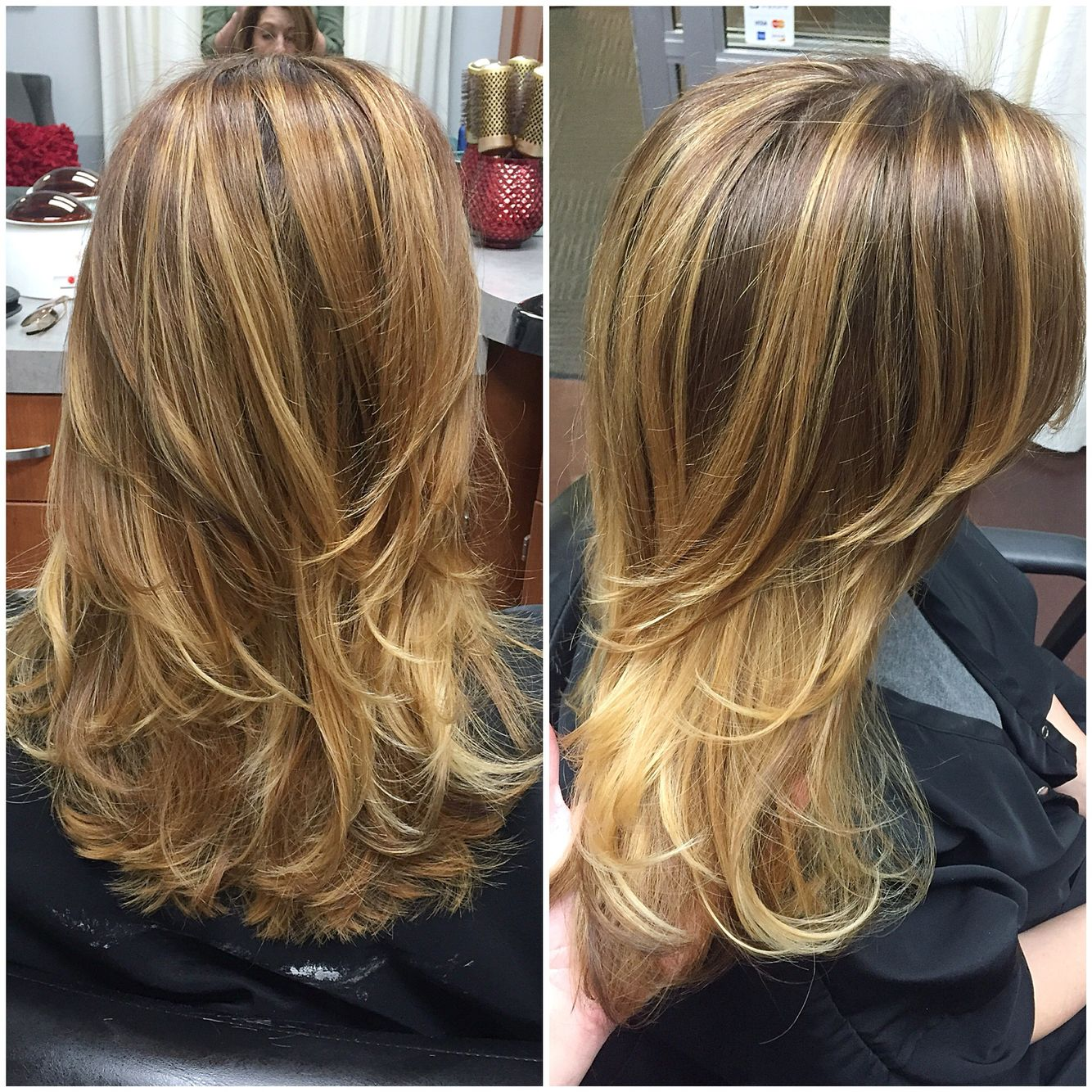 All balayage highlights by Melanie at Southern Roots Studio; Raleigh ...