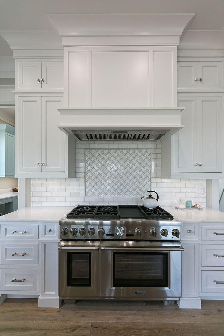 Mahshie Custom Homes Custom Kitchen Remodel White Shaker