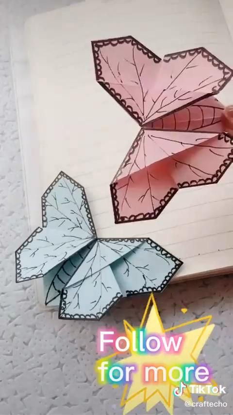 Easy DIY Paper Butterfly Tutorial