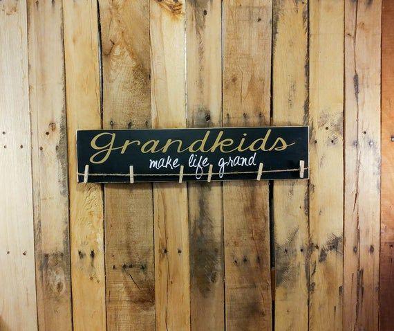 Grandparent Sign - Grandparent Announcement - Grandparent Gifts - Gifts For Grandparents - Signs For #bestgiftsforgrandparents
