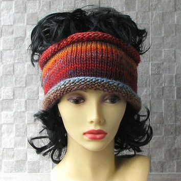 Lovely Knit headband Soft Headband Ear Warmer Hair Accessories Winter Fashion 2015 Hand-knitted by