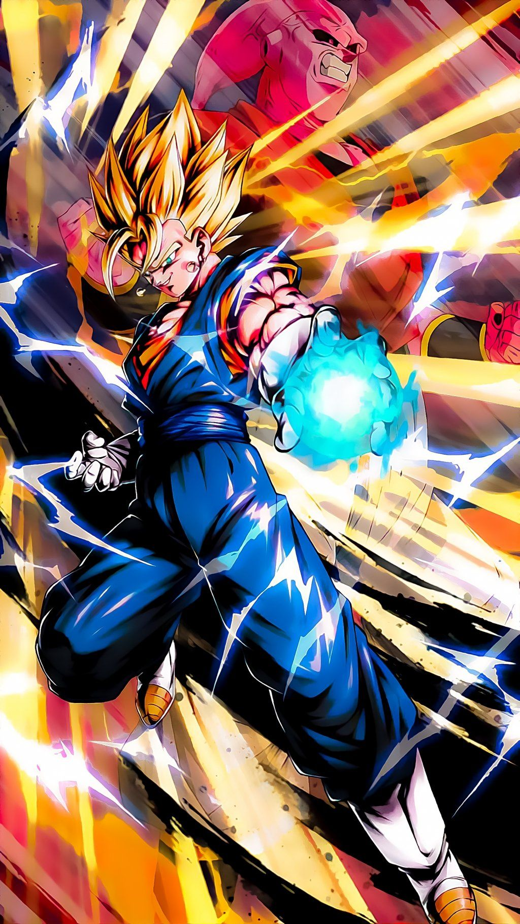 Top 8 Dbz Super Vegetto 4k Vertical Wallpapers In 2020 Dragon Ball Painting Dragon Ball Art Dragon Ball Super
