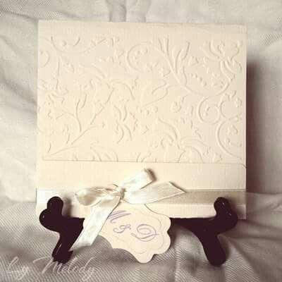 Ivory. Invitaţii de nuntă  LyMelody https://www.facebook.com/invitatiimelody/