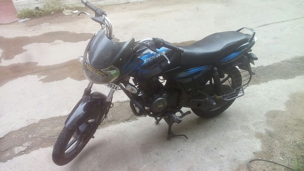 Check This Bike Bajaj Discover 125cc From Hyderabad Blue More