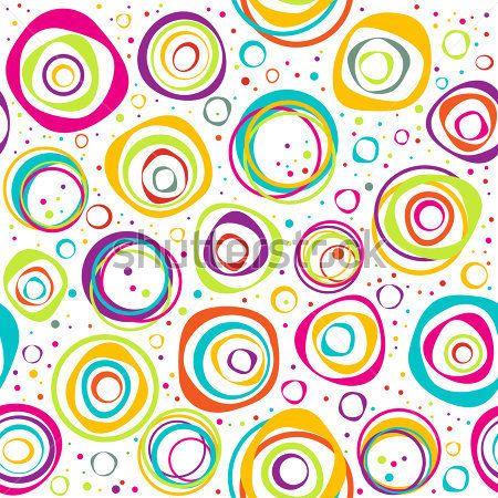 Resultado de imagen para hojas decoradas de circulos de colores