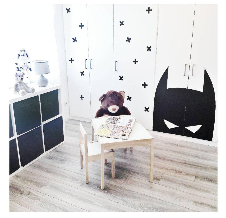 Ikea Dombas Mit Klebefolie Aufgemotzt Kinderzimmer Pinterest
