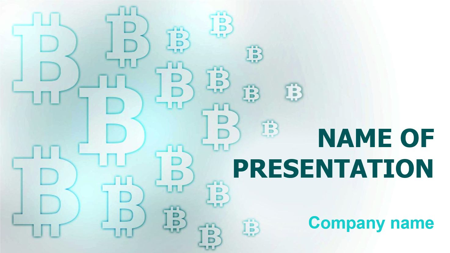 Free Bitcoin Coin Powerpoint Template And Theme This Beautiful And