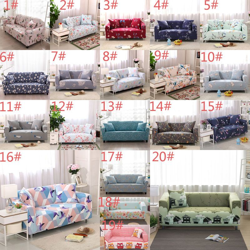 L Shape Stretch Sofa 1 2 3 4 Seater Cover Protector Couch Slipcover Washable