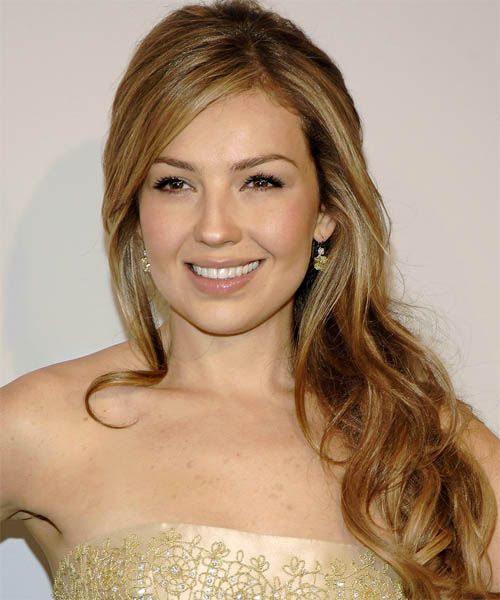Thalia Hairstyle 2014 | New Hairstyles | Pinterest | Thalia, Hair Style And  Nice Hair Colors