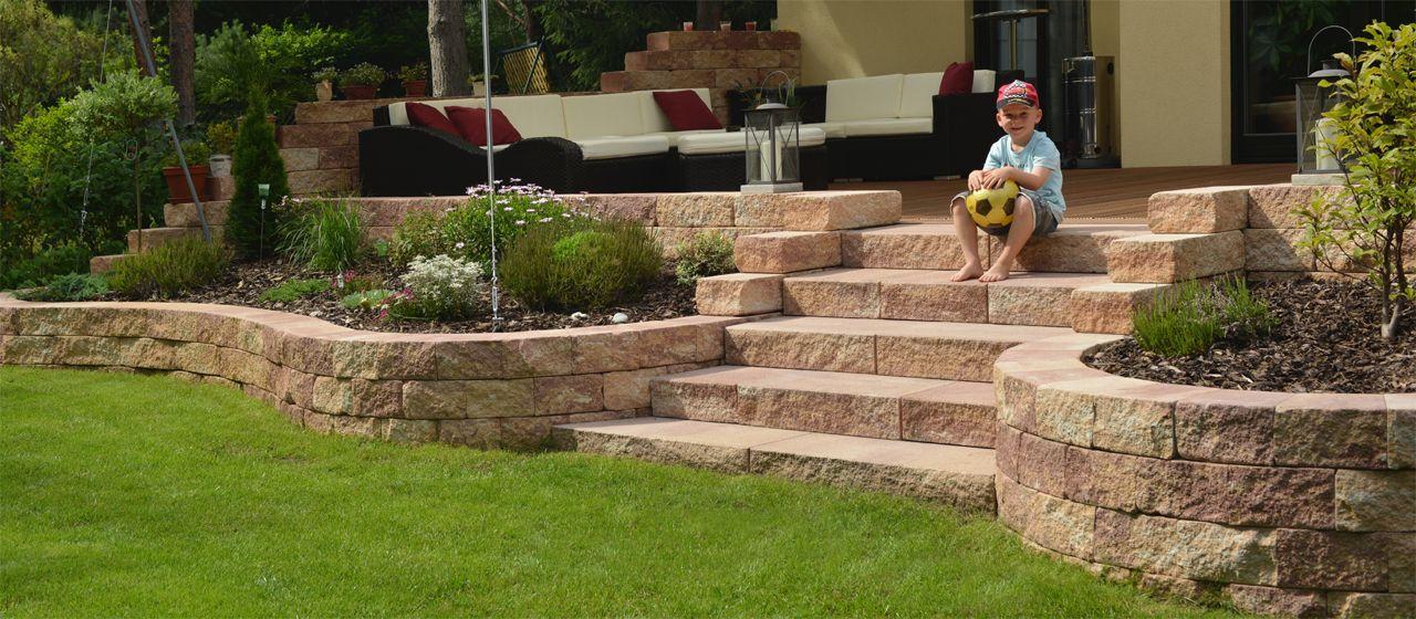 Vermont Bruchsteinmauer Mauer In Nebraska Kies Steinmauer Garten Gartengestaltung Hanglage Gartengestaltung