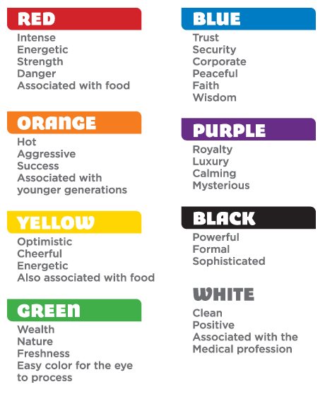 Image Result For Psychology Of Color Psychology Of Color