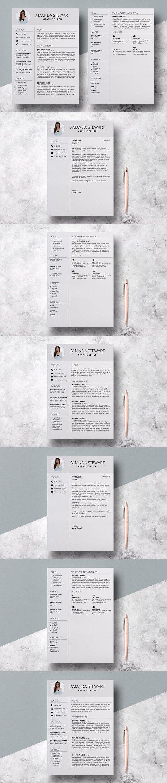 Resume Template / Amanda Stewart. Resume Templates