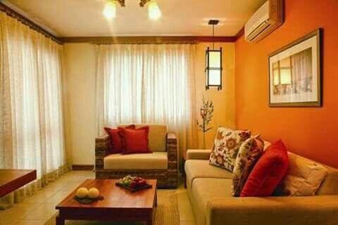 Erkunde Farbgestaltung Wirken Und Noch Mehr FarbgestaltungWirkenWohnzimmer SehenWohnzimmer WandfarbenOrange