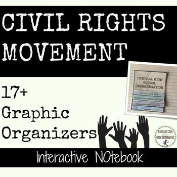 Civil Rights Movement: Interactive Notebook Pages is a set of templates and…