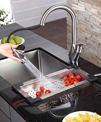 Robot Check Kitchen Sink Accessories Best Kitchen Faucets Modern Kitchen Cabinets