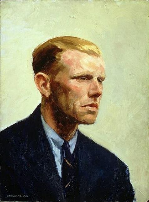 brazenswing Edward Hopper Portrait of a man  Portraits Male I