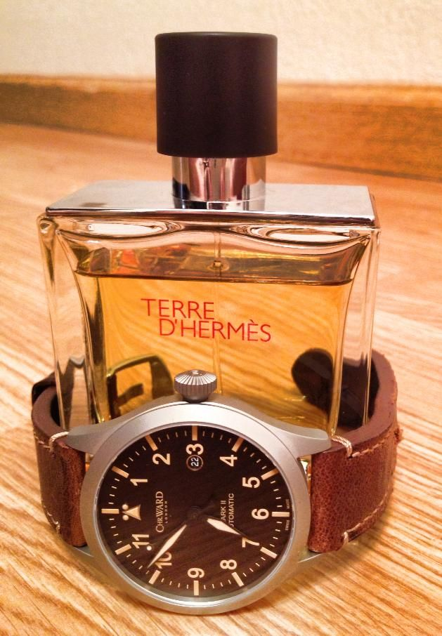 terre d 39 hermes pure parfum and a christopher ward c8 mkii. Black Bedroom Furniture Sets. Home Design Ideas
