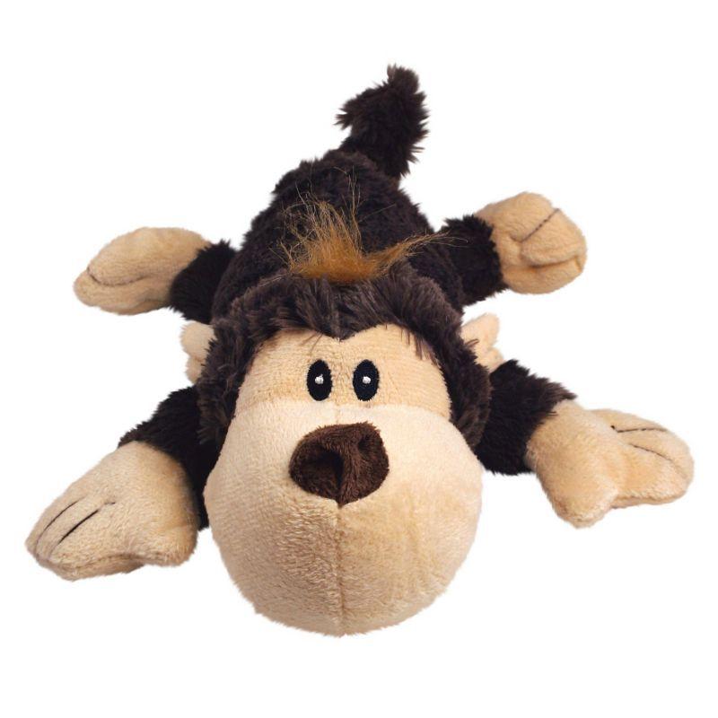 Kong Cozie Funky Monkey Plush Dog Toy Medium Kong Dog Toys
