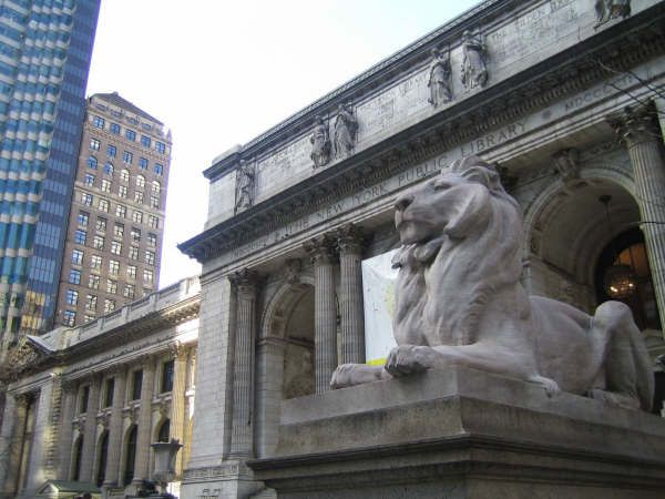 New York Public Library - Even had a behind-the-scenes tour