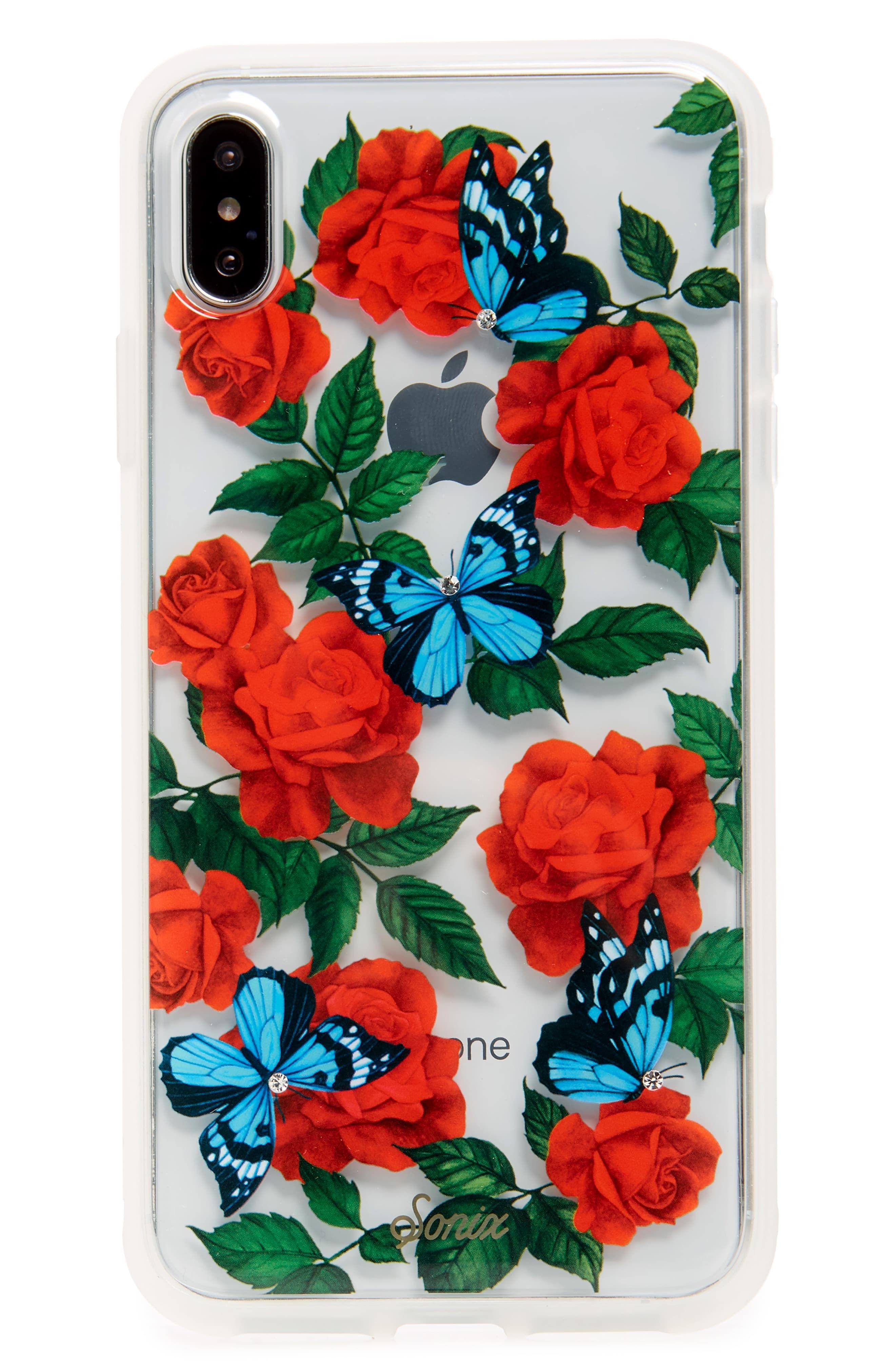 Sonix butterfly garden iphone xxs xr x max case in