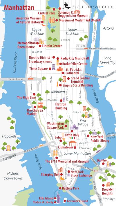 Eine Woche in New York - secret-travel.guide #newgrandma