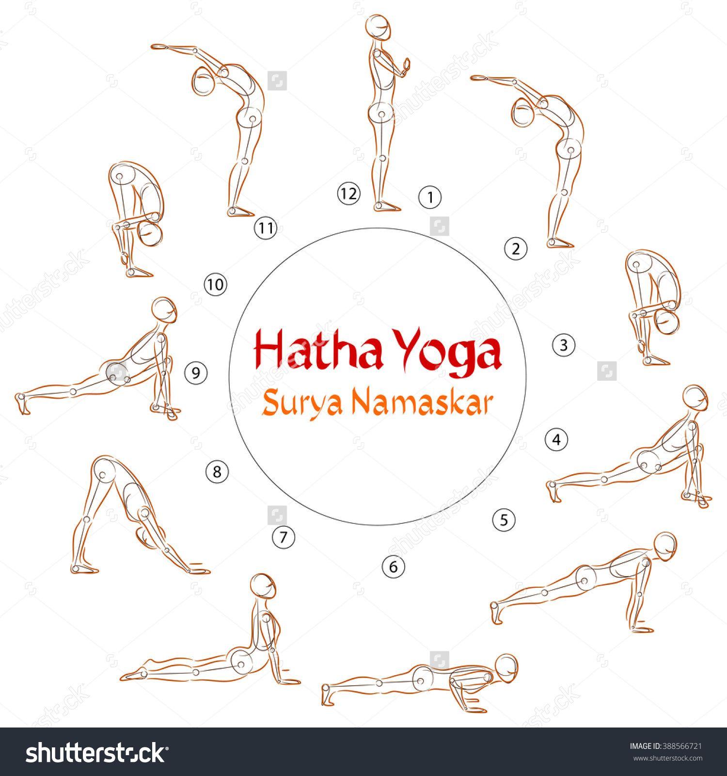 Hatha Yoga Surya Namaskar Asanas Hatha Yoga Surya Namaskar Hatha
