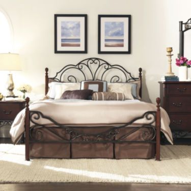 Belvedere Metal 4-Poster Bedroom Collection - JCPenney | Apartment ...