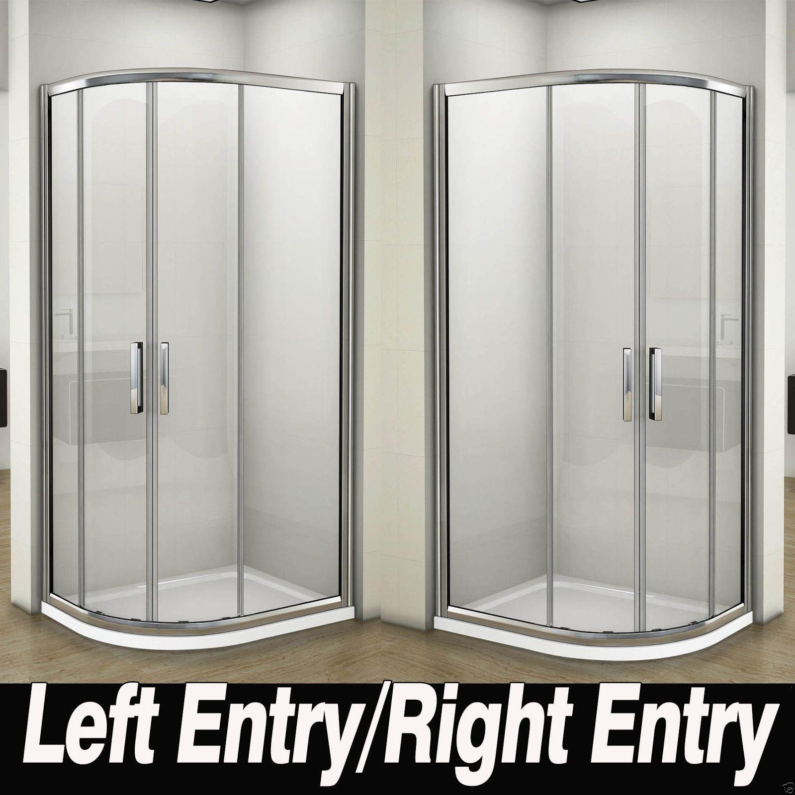 Luxury Quadrant Shower Enclosure Easy Clean 8mm Glass Bathroom ...