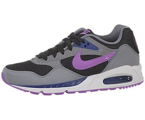 Nike Womens Air Max Correlate Black Laser PurpleCool GreyDeep Royal