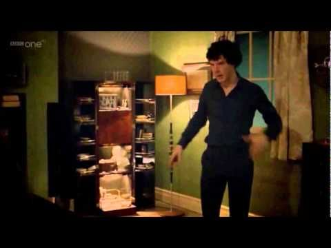 Back to bed. - Sherlock BBC. my favorite part has be to when he says 'THE woman. the womanwoman!'