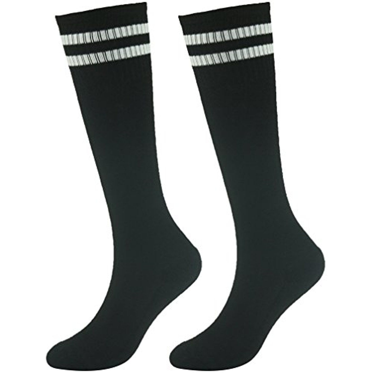 8e8d1ca55 Youth Soccer Socks Fasoar Teens Knee High Football Socks Long Striped Rugby  Tube Socks 2 6 10 Pairs     You can get additional details at the image  link.