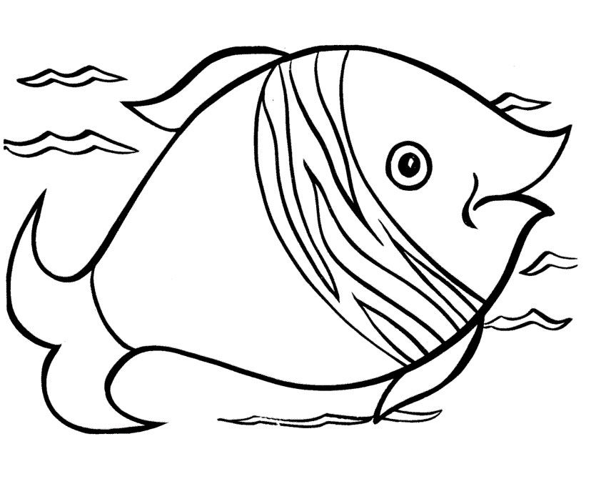 Fish Coloring Pages Free Download Procoloring